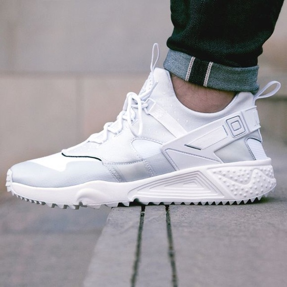 Men s Nike Air Huarache Utility White e4e8465ca