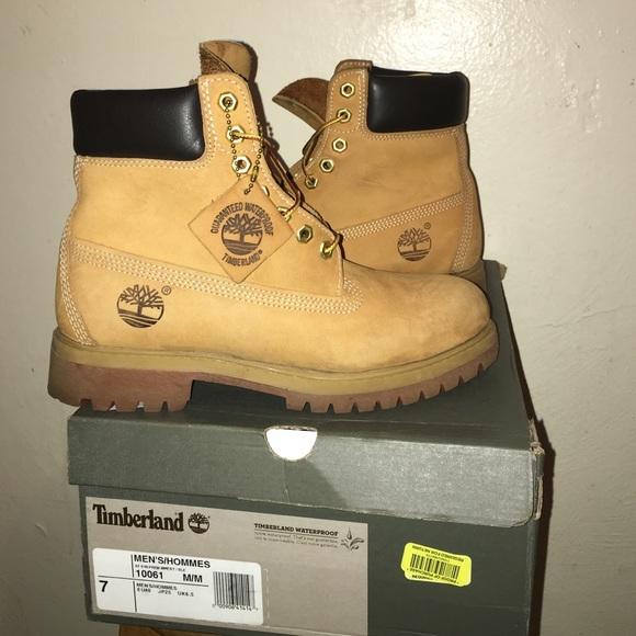 c8c3e7b41e111 Timberland Shoes | Authentic Size 7 Mens Waterproof Boots | Poshmark