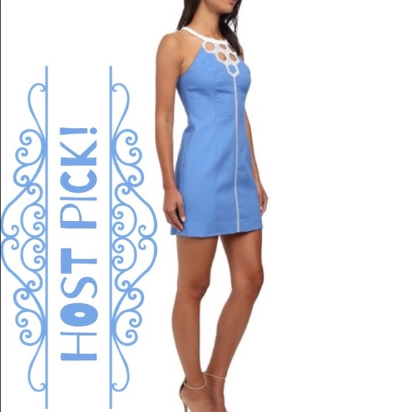 c63ff8127e32c7 Lilly Pulitzer Dresses & Skirts - 🎉HP!🎉 Lilly Pulitzer Bay Blue Molly  Cutout