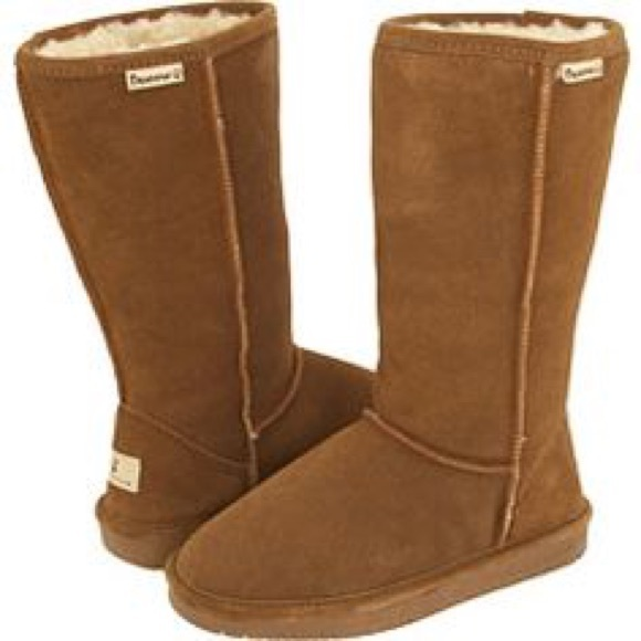 67 bearpaw shoes fuzzy brown bearpaws from caprice