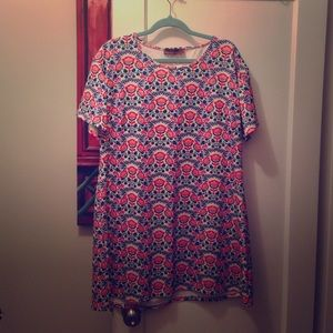 Pink Clove Dresses & Skirts - Patterned Dress