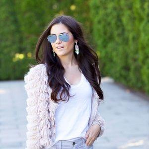 Accessories - Silver mirrored aviator sunglasses