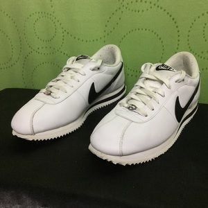 60 nike shoes black and white cortez from s