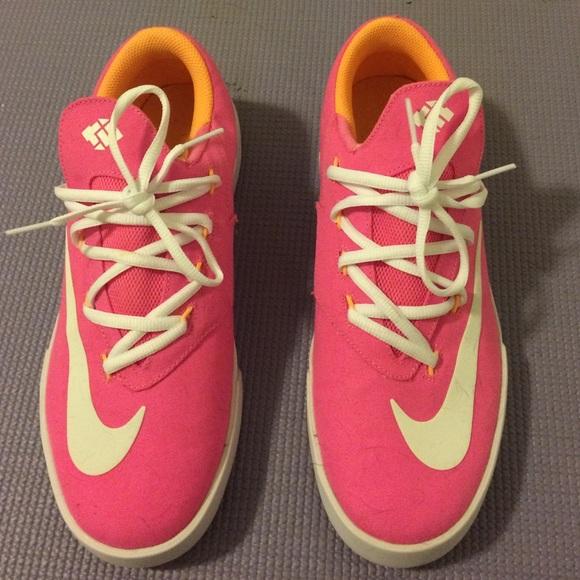 KD Nike Neon Pink Sneakers