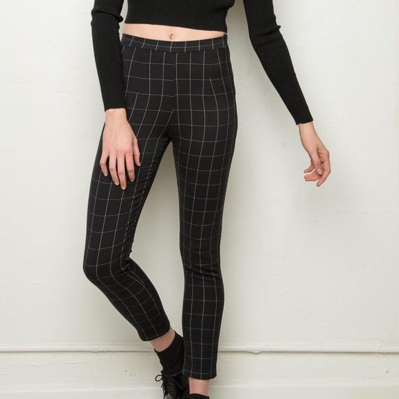 Grid dress and pants bundle