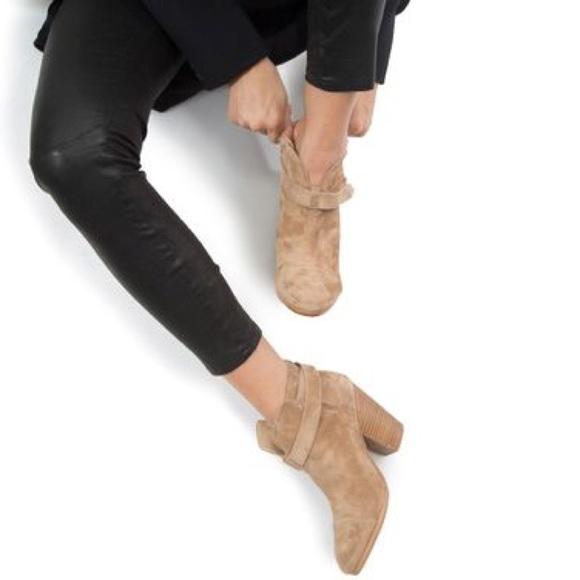 Rag and Bone Rag & Bone Camel Suede Harrow Boots vLxYyjb