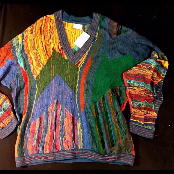 Vintage Coogi Sweater Biggie Cotton Xxl Xl 2x Xxl