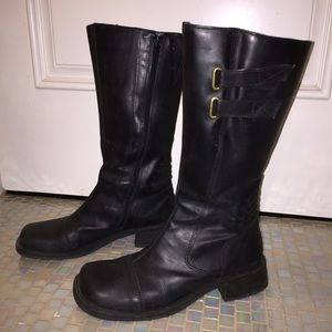 Shoes - Women's leather riding boots.