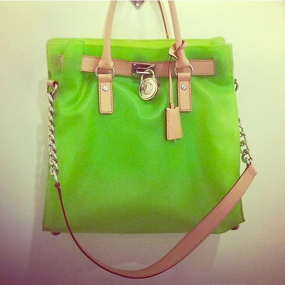 Large Hamilton Frosted Jelly Tote Neon Pink   Stuff I Like