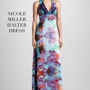 Nicole Miller Dresses & Skirts - NICOLE MILLER PURPLE HUE MAXI DRESS