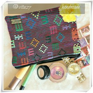 Ketzali Handbags - 👜 Handmade makeup bag, pouch.