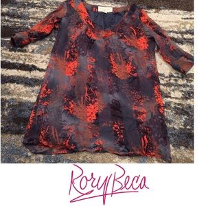 Rory Beca Silk Tunic Top