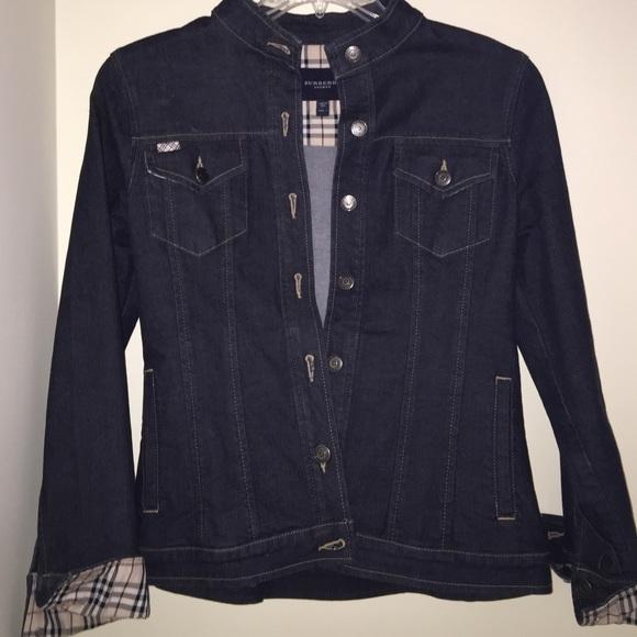 Genuine Burberry London denim jacket