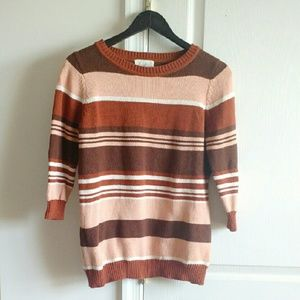 Forever 21 Sweaters - *CUTE* Striped Sweater Size L