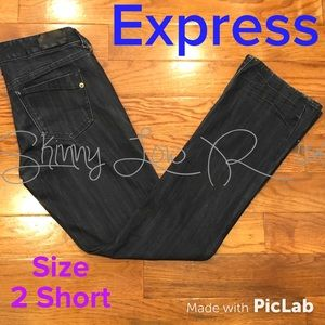Express Skinny Low Rise Jeans Size 2 Short