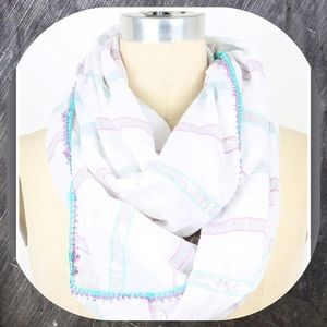 Betsey Johnson Spring Infinity Scarf