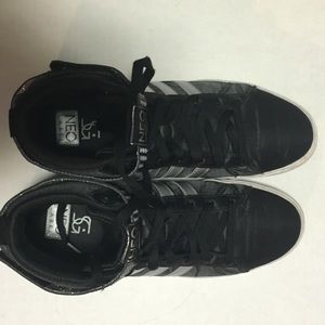 Adidas Selena Gomez Neo 8.5 high top mid sneaker