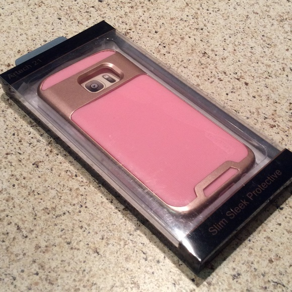 the best attitude 0992b 45af9 Galaxy S7 Edge protective case PINK