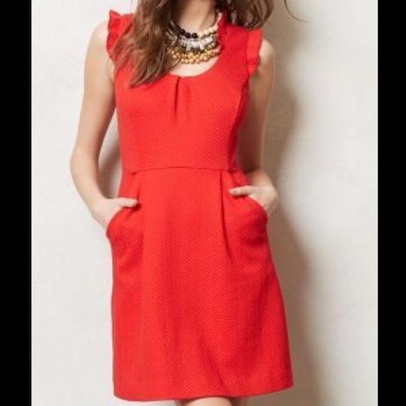 3bb495182f55c Tabitha from Anthropologie Dresses | Tabitha Cherie Dress In Fuscia ...