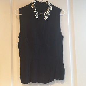 Karen Millen blouse with collar details