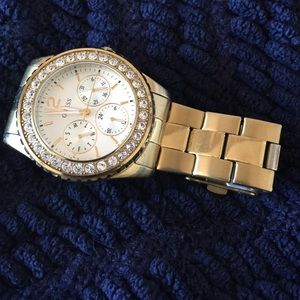 Guess Accessories - Guess Gold Watch