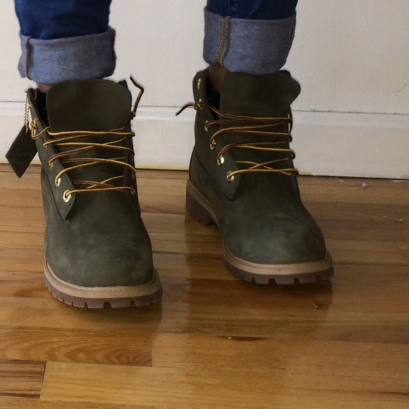 New Timberland Shoes | Olive Green S | Poshmark #EN36