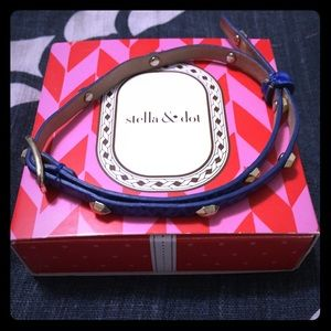 ⚡️FLASH SALE⚡️Stella & Dot leather wrap bracelet