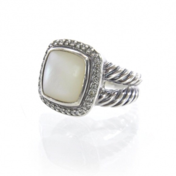 david yurman jewelry david yurman albion mother of pearl u0026 diamond ring