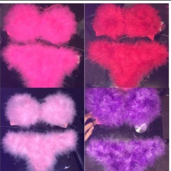 6c5867cdf7017 fur bra and panty sets. M 56fc12f1b4188e0c2403ed69
