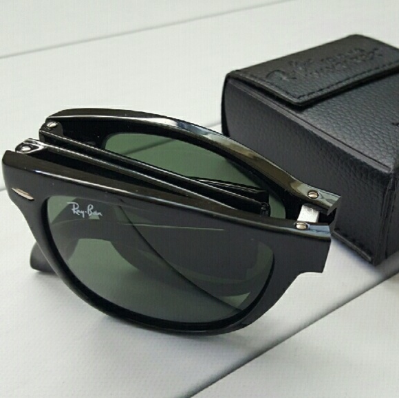 a263e99d4fb0 Authentic Ray-Ban Folding Wayfarer RB4105 601 54mm.  M_56fc141a2599febe70006a04