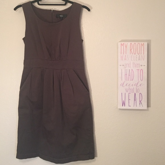 mossimo supply co. dresses | ending soon olive sleeveless dress with ...