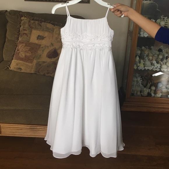 Davids Bridal Flower Girl Dress Wg1267 : Off david s bridal other communion flower girl dress