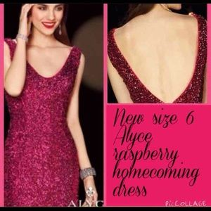 Alyce Paris Dresses & Skirts - Flash sale New Alyce size 6 homecoming dress