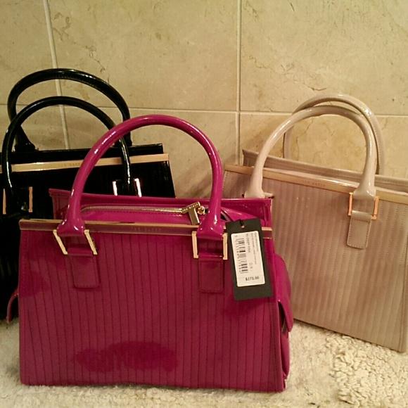 2b347659c SALE  Ted Baker deep pink handbag