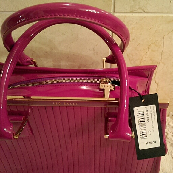 73% off Ted Baker Handbags - SALE**Ted Baker deep pink handbag ...