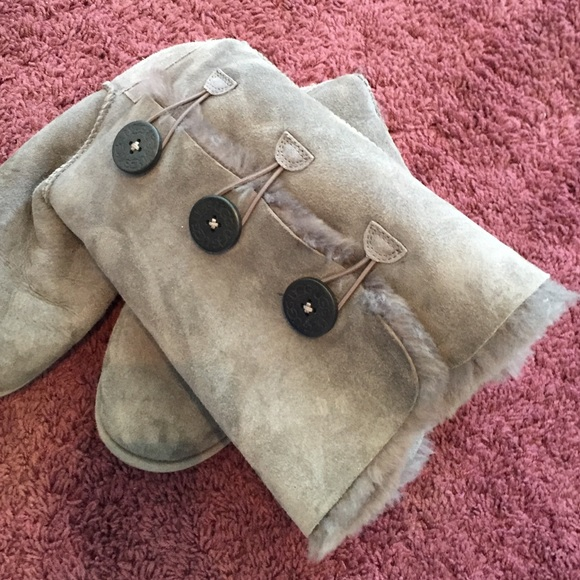70 off ugg shoes grey tall uggs with buttons from jenna