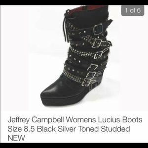 Jeffrey Campbell spiked boot