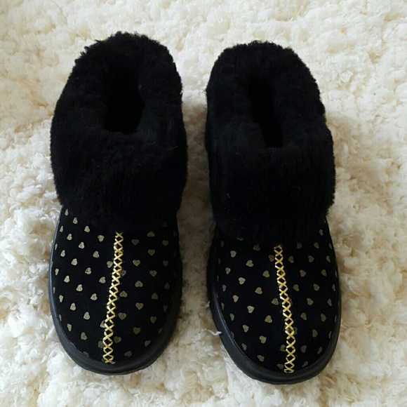3287834280b I Heart Ugg I Heart Dreams slippers NWT