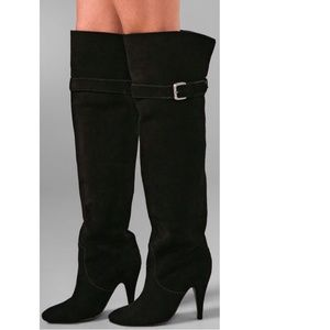 kathryn amberleigh Shoes - Kathryn Amberleigh Over Knee Suede Boots