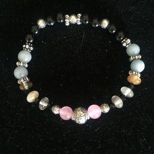 $SALE Genuine Gem Silver Bracelet