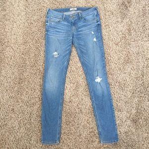 nwot distressed skinny jeans