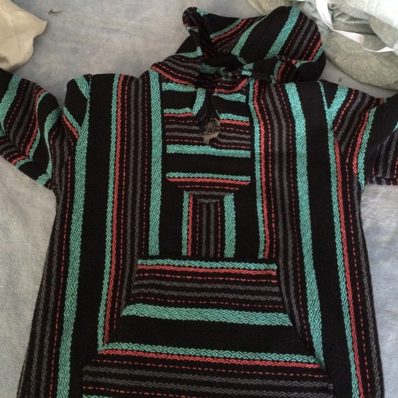 SOLD Mexican Sweater Drug Rug Stoner Sweater M From Emma's