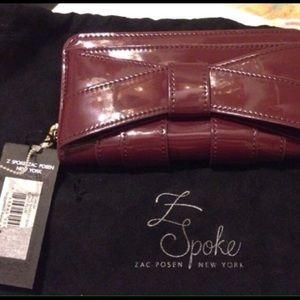 Zac Posen Handbags - ❤️ valentines red Zac  Posen L Spoke NY wallet