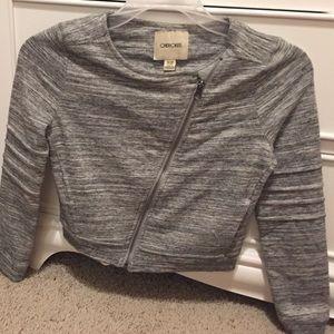 Jackets & Blazers - Girls Cropped Moto Jacket