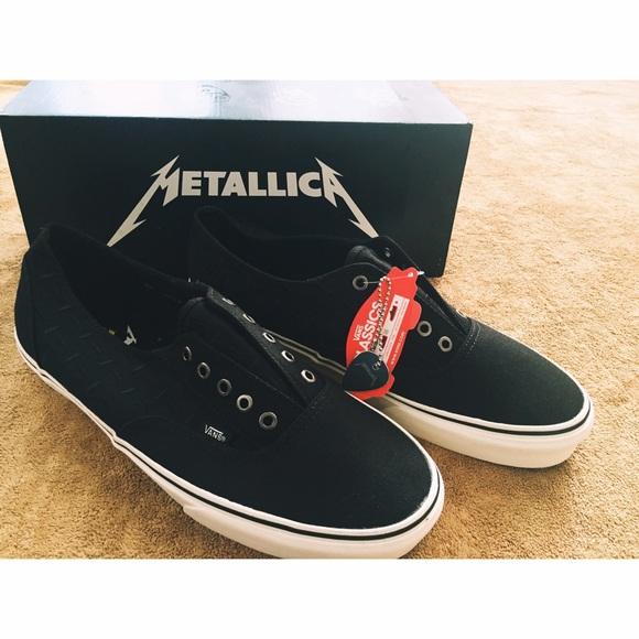 b1cb925342 Vans X Metallica Lars ulrich era laceless
