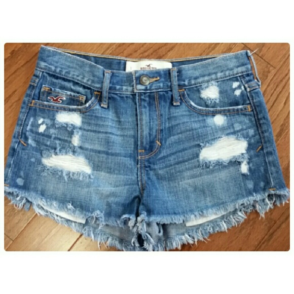 hollister jean shorts - photo #33