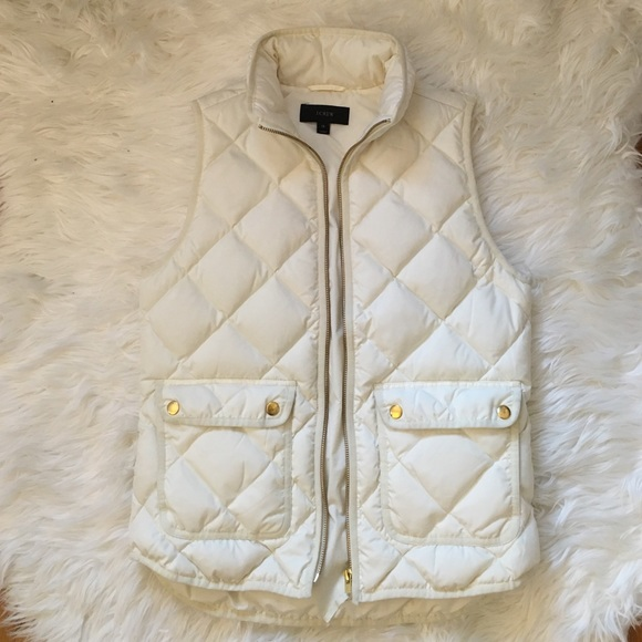 J. Crew Jackets & Blazers - J. Crew Excursion Quilted Down Vest