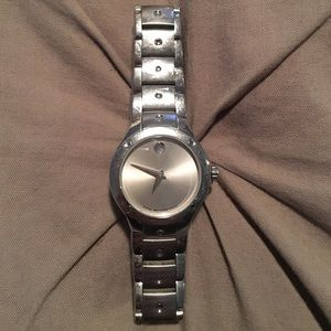 Woman's Movado Stainless Steel Sport Edition Watch