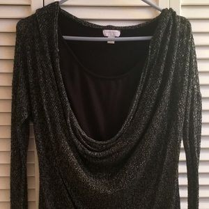 A Pea in the Pod Tops - ⛄️SALE⛄️  A PEA IN THE POD Cowl Neck Top NWOT