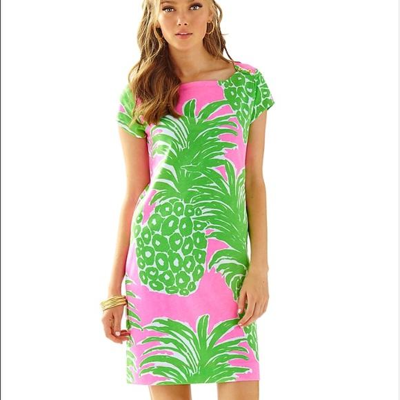 5b2c7b8beab NWT Lilly Pulitzer Loren dress Pink Pout Flamenco